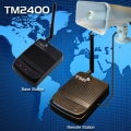 TM-2400BR TM-P115 Wireless voice loudspeaker broadcasting system. Range 500m to 1km