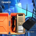 TM-3300BR Wireless phone station to station hazardous area and outdoor environments phone system. Range 500m to 1km