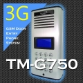 TM-G750 3G / 2G GSM Quad-band Vandal-Proof Wireless Intercom Gate door entry system